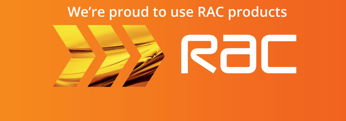 RAC Proud To Use